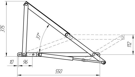 Механизм подъема МП 1-ГП | Схема 1