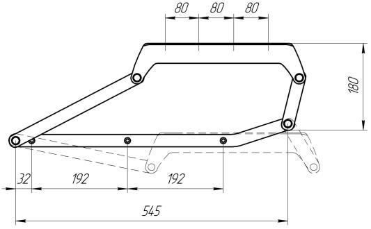 Механизм подъема МП 3 | Схема 1