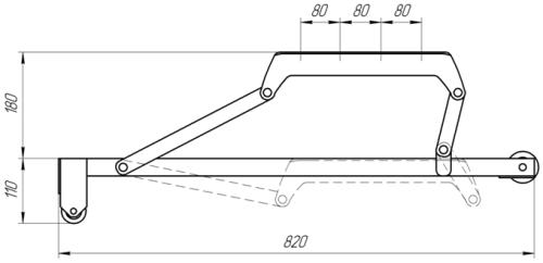 Механизм МПВ1-03 | Схема 1