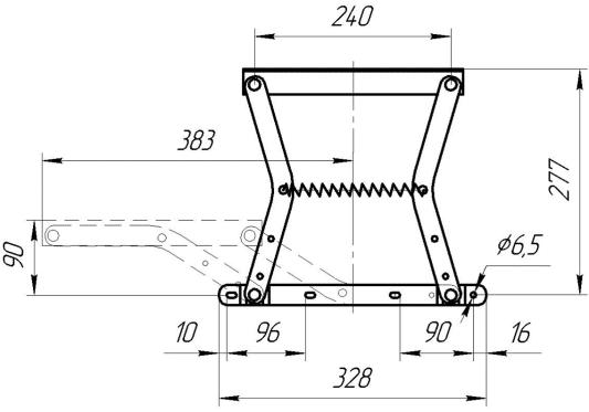 Механизм трансформации МТ 1 «Тик-так» | Схема 1