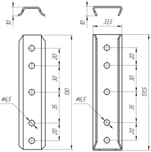 Соединитель СН 1 | Схема 1