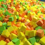 Поролоновые кубики для ям